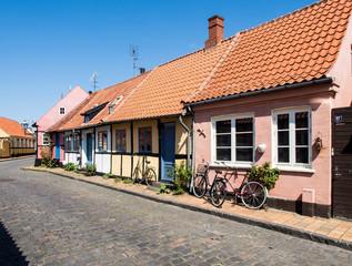 In der Altstadt von Rønne
