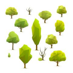 polygon trees set