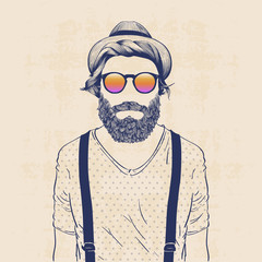 cool hipster