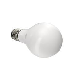 Light bulb, isolated on white 3D Illustration
