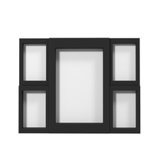 Picture Frame Isolated on White 3D Illustration