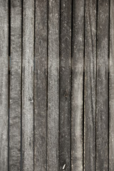 Wood wall of the countryside house
