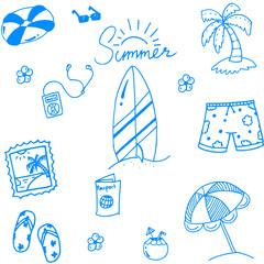 Summer of doodles for kids