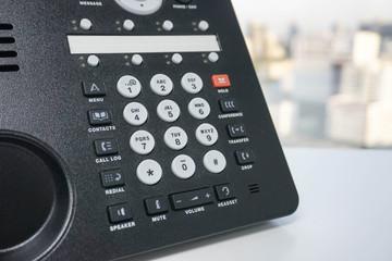 IP phone and numeric keypad