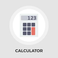 Calculator Vector Flat Icon