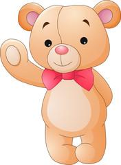 How to Draw a CUTE TEDDY BEAR WITH A LOVE HEART Easy