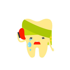 Toothache Vector Icon