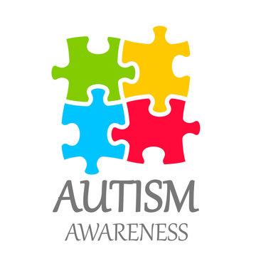 Vector world autism awareness day