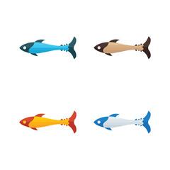 fish vector cute