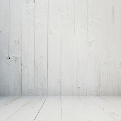 white wood background and texture with space