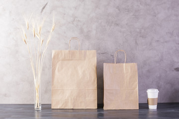 Food bags, spikes and coffee