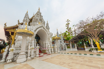 Wat Sanpa Yang Luang, beautiful temple in Lamphun, Thailand.