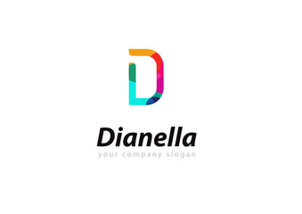 letter D logo Template for your company