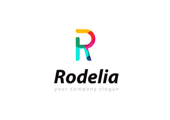 letter R logo Template for your company
