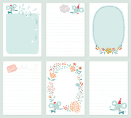 Baby Elephant Cards