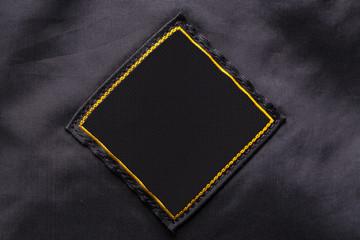 Blank fabric label