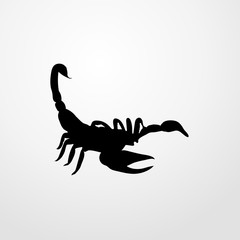 scorpio icon. scorpio sign