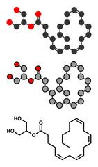 2-Arachidonoylglycerol (2-AG) endocannabinoid neurotransmitter