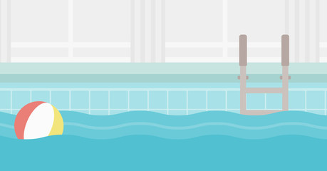 Background of swimming pool.