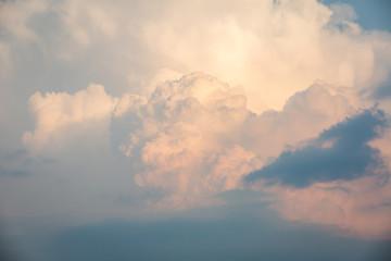 orange cloud sunset sky.