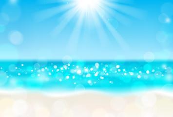 海 砂浜 太陽