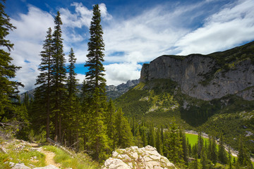 Durmitor Mountains in Montenegro