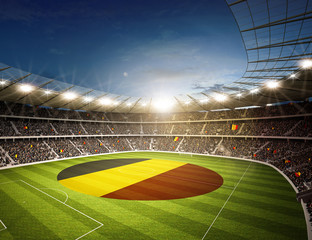 Wall Mural - Stadion Belgien 2