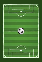 Fußballfeld & Fußball