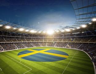 Wall Mural - Stadion Schweden 2