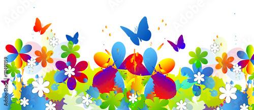 Primavera Estate Fiori Sfondo Stock Image And Royalty Free