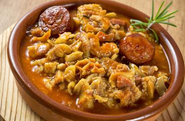 Callos,cocina madrileña