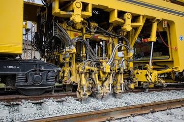 Maintenance railway machine