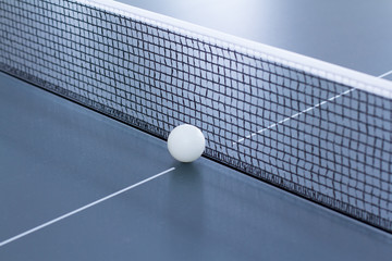 Ping pong: grid and ball