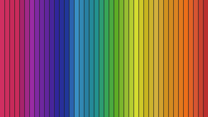 Spectrum. Vertical,columns in different colors.