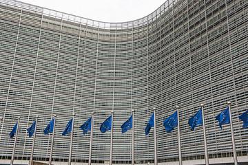 """Verwaltungsgebäude der """"Europäischen Kommission"""" in Brüssel"""