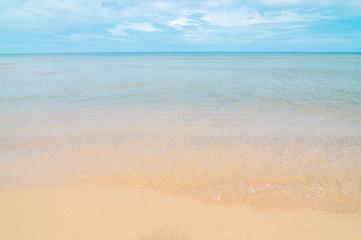 Beautiful beach sea summer