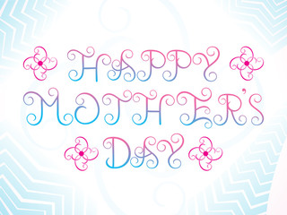abstract artistic mother's day background