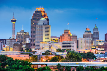 Wall Mural - San Antonio Skyline
