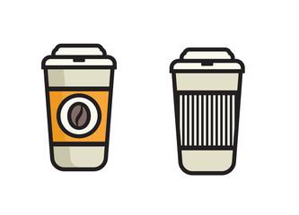 Coffee Icon - Coffee to go vector icon