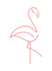 flamingos in love icon