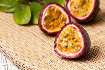 tropical fruit passion fruit