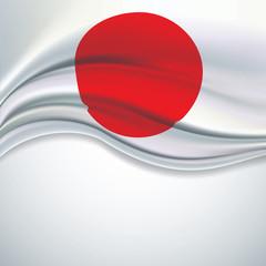 Vector Japanese flag