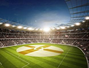 Wall Mural - Stadion Nordirland 2
