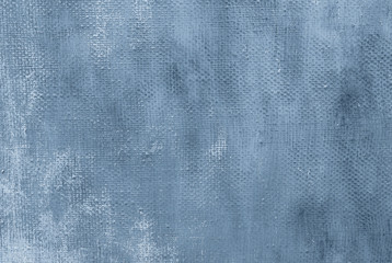 Oil painting blue abstract background with brush stokes on oil paint . Art concept.