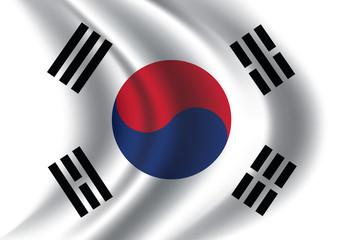 korea photos royalty free images graphics vectors videos rh stock adobe com south korea flag vector free south korea flag vector download