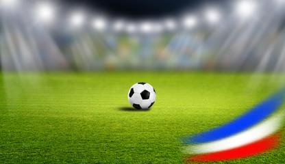 Fußball im Stadion Frnakreich