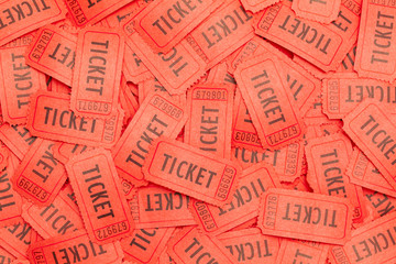 Scattered Red Tickets