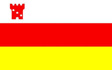 Flag of Santa Barbara City, California, USA
