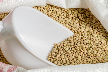 bag lentils