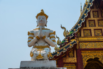 Thailand Temple. Chiangmai.